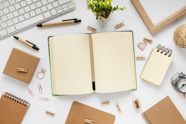 Composition of natural material stationery
