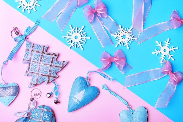 Состав новогоднего декора
