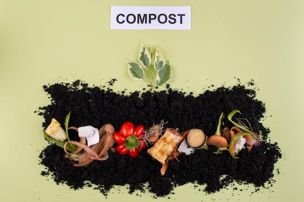 Состав компоста из тухлых овощей