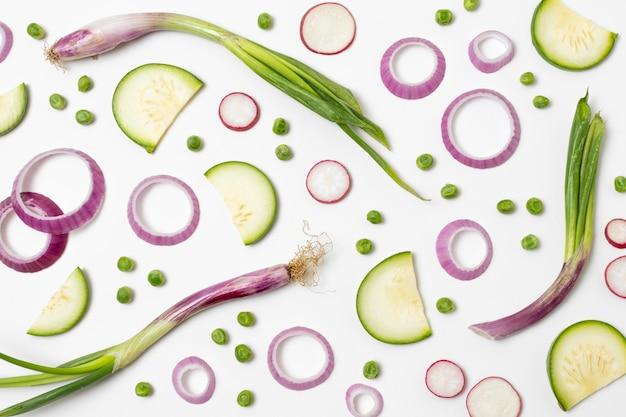 おいしい熟した農産物の組成