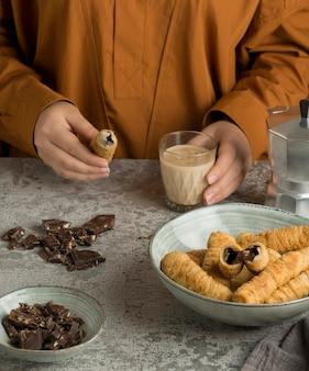 美味しいテケーニョ料理の構成