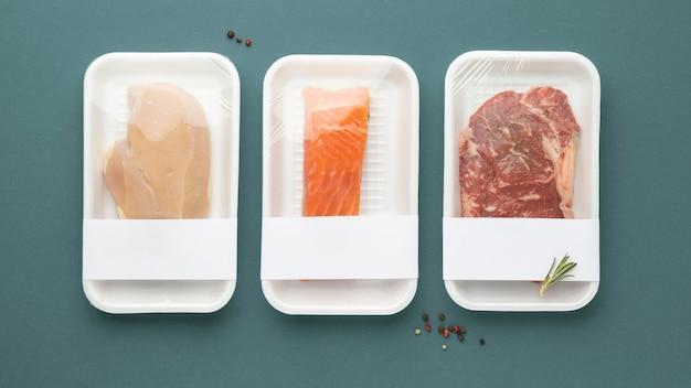 健康的な冷凍食品の組成