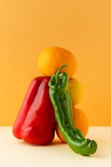 Состав здоровой вегетарианской пищи
