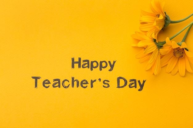 Составление элементов дня учителя