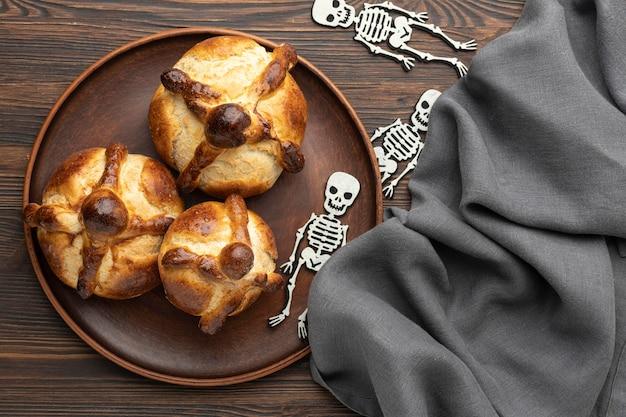죽은 전통 빵의 구성