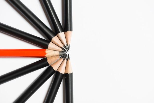 Composition of pencils