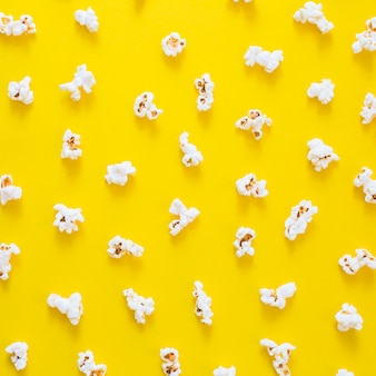 Composition of popcorns