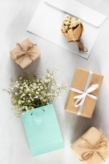 Composition of pretty mother's day elements