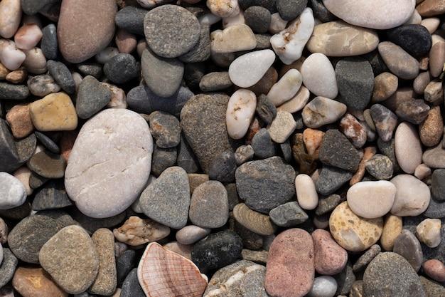 Composizione della trama di pietra grezza