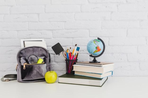 Composition of school materials