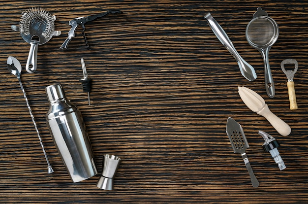 Composition of tools for cocktails