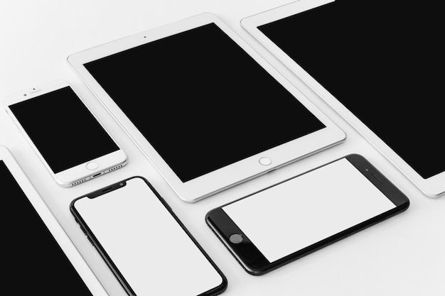 Composizione di vari dispositivi