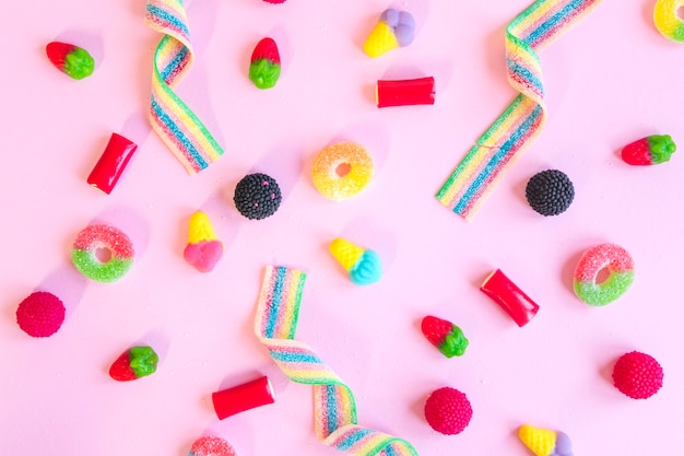 Composition of various sweets