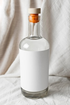 Composition with delicious mezcal beverage