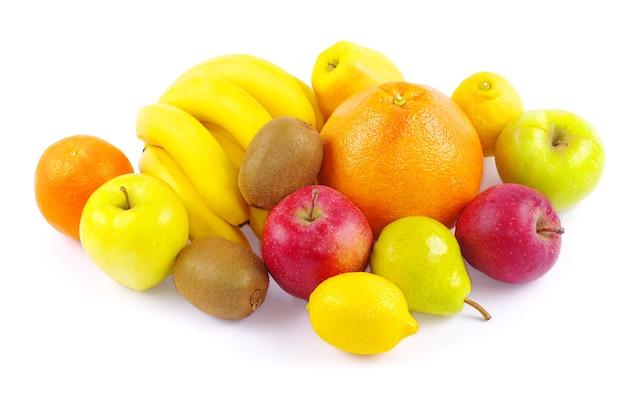 白で分離された果物との組成物