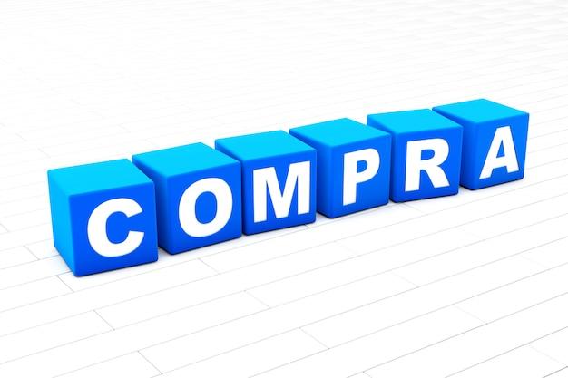 Compra word illustration