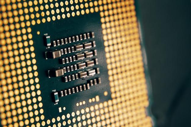 Компьютерный чип.