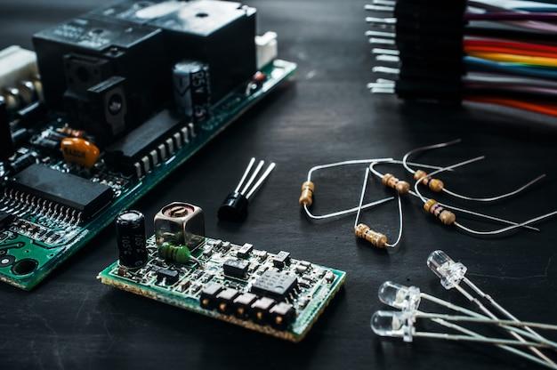 Computer components of repair service