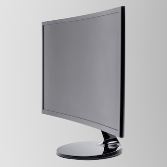 Computer curvy monitor digital device