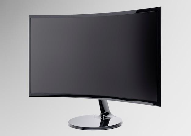 Computer curvy monitor digital device