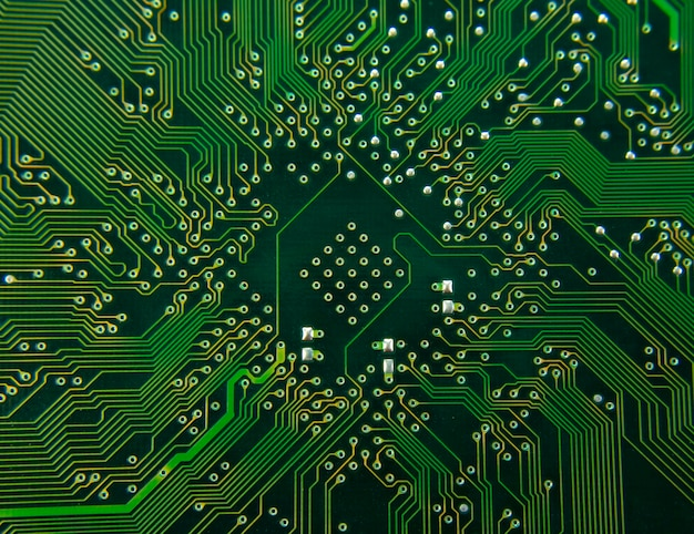 컴퓨터 전자 회로. 배경 또는 질감에 사용