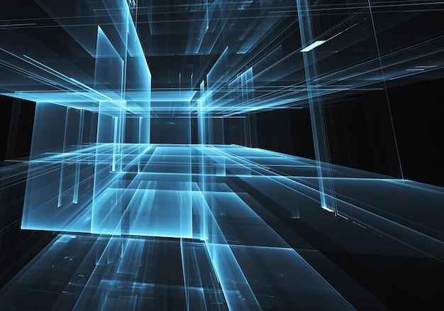コンピューターで生成された抽象的な背景