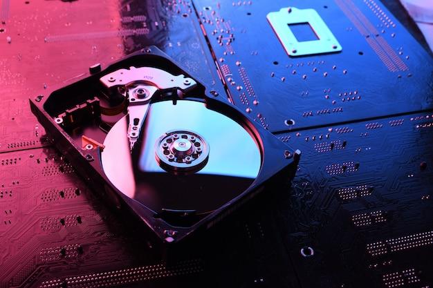 Computer hard disk drives