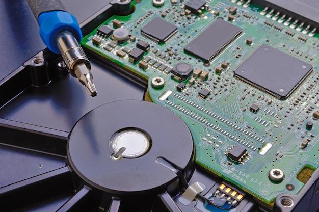 Computer hard drive repair