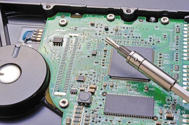 パソコンのハードディスク修理
