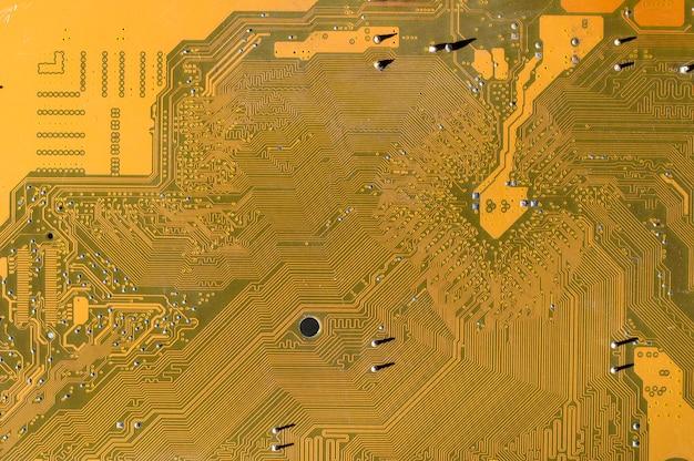 Computer motherboard texture