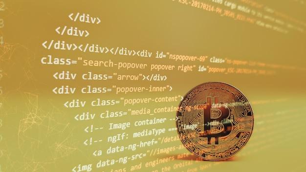 コンピュータースクリプト。ソフトウェアの背景。ソースコードの写真。ウェブサイトのプログラミングコード。プログラマー開発者画面。オフィスでプログラムコードに取り組んでいる開発者。