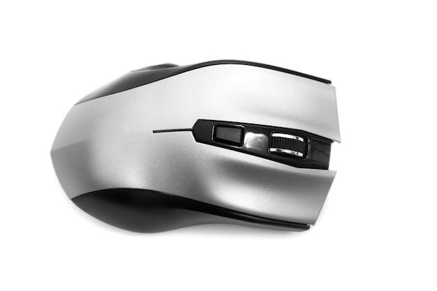 Изолированная мышь колеса прокрутки компьютера.