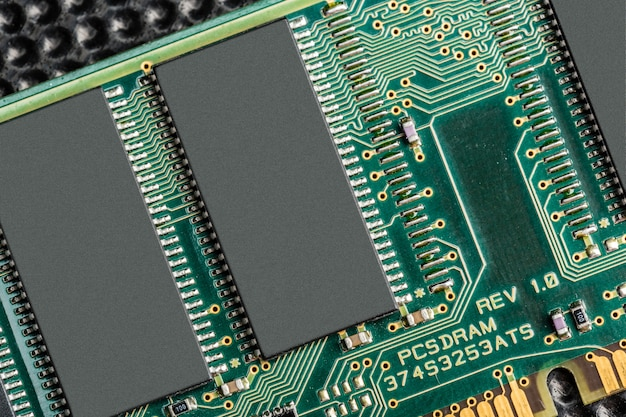 Computerchip, technology and electronics industry