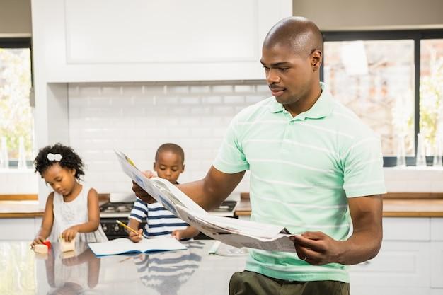 Концентрированный документ для чтения отца