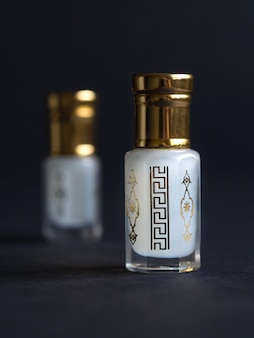 Concentrated perfume in a mini bottle