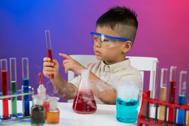 Concentration on chemistry
