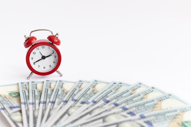 A concept about the relationship between time and money.