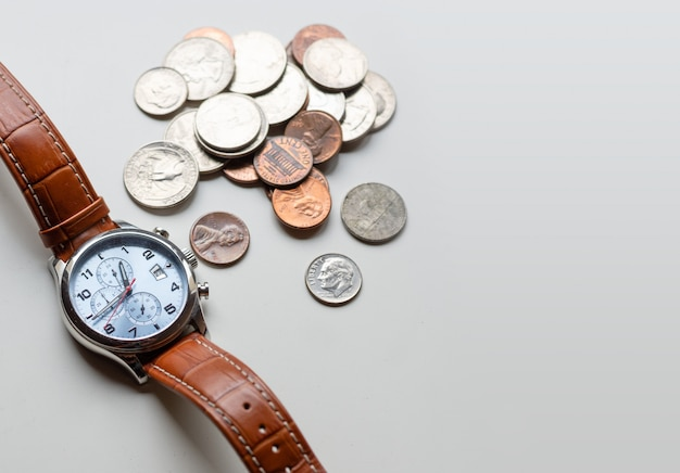 A concept about the relationship between time and money