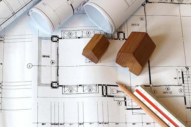 개념 건축가, 건축가 청사진 작업