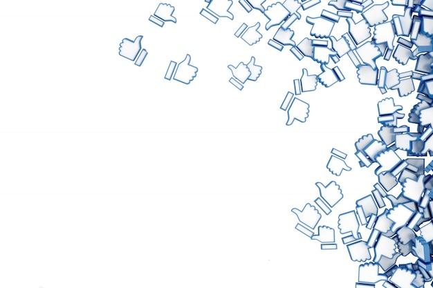 Concept art on social networks