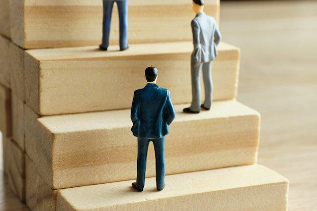 The concept of competition in career development and promotion.