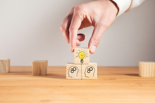 Concept creative idea and innovation