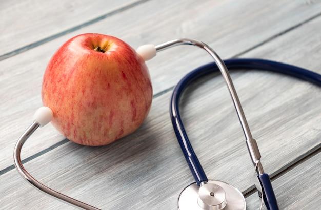 Концепция диеты, здравоохранения, питания или медицинского страхования
