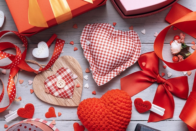Концепция на день святого валентина