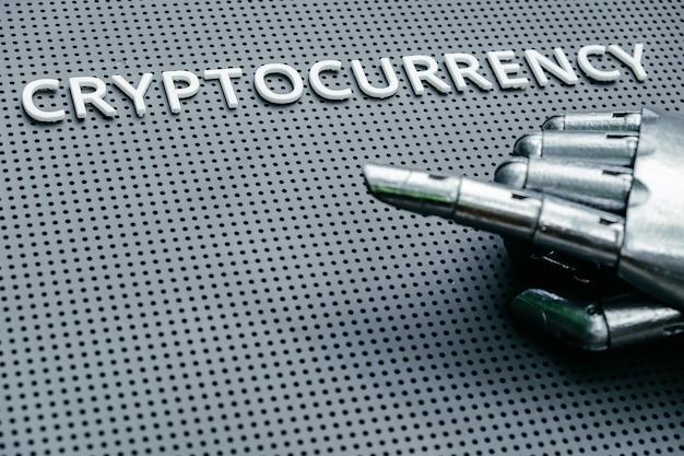 Концептуальное изображение криптовалюты цифровых денег