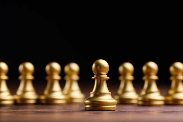 The concept of a leader by pawns