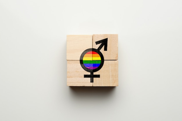 The concept of love between transgender people lgbt community