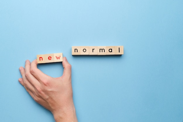The concept of new normal in an epidemic