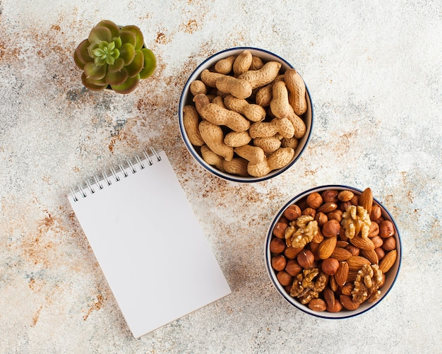 Концепция здорового питания, диеты Premium Фотографии