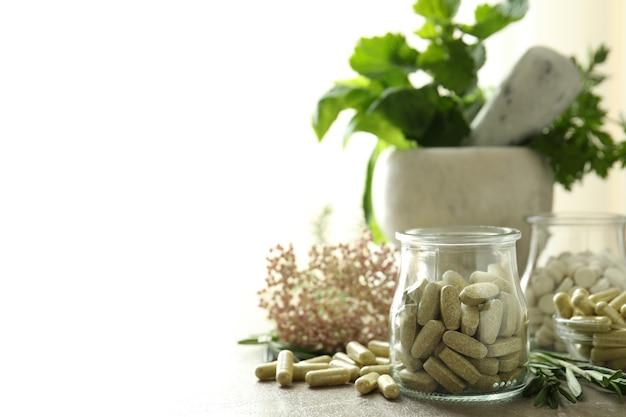 Понятие о таблетках фитотерапии